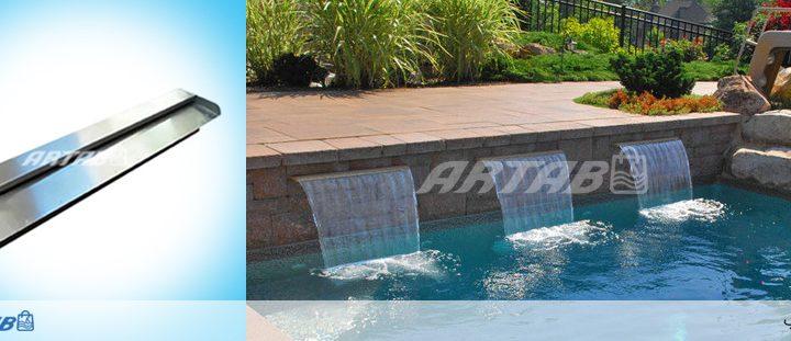 آبشار پرده آب،تلفیقی از معماری مدرن و صدای آرامش بخش آب